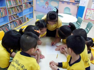 Art and Reading workshop_primary  school_Tsuen Wan 2